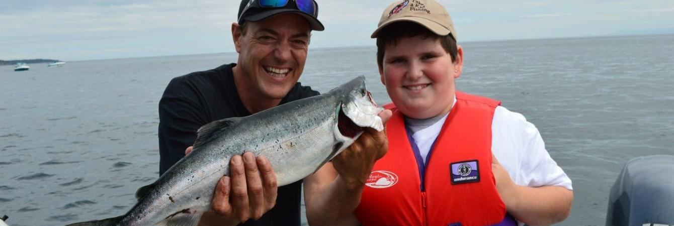 First Pink Salmon - Pink Salmon Festival 2013